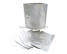Best Price Resealable aluminum foil packaging bags / custom printed metalized foil bag