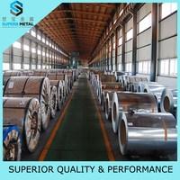 Galvanized sheet metal flat sheets of construction application