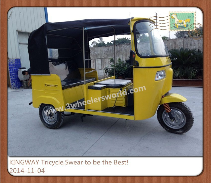 KINGWAY Bajaj Tricycle for Passenger,Bajaj Auto Rickshaw Price,Tricycle for sale
