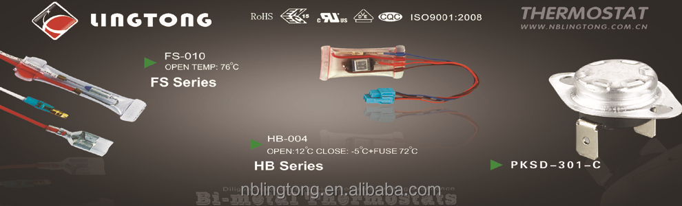 HB-004 BI-METAL DEFROST THERMOSTATS Home appliance spare parts LG Refrigerator 6615JB2003J refrigeration parts