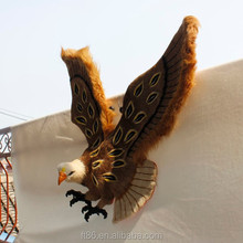 Home decoration wall mounted plastic hawk toys