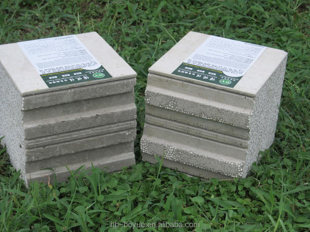 50mm Extruded Polystyrene Foam Cement Insulation Board Eps