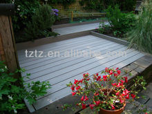 2013year WPC wood plastic composite exterior covering floor