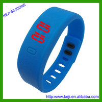 Promotional Cheap Child Smart Silicone LED Watch From Chinese Factory