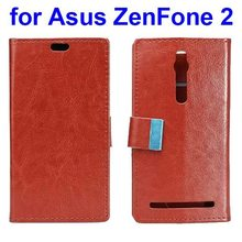Alibaba china Smart Phone Flip Mobile Phone Cover Case for Asus Zenfone 2