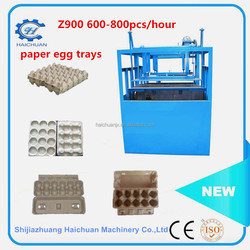 Machine Production of Paper Egg Carton From Recycled paper