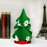 2016Teda Christmas Tree Felt Ornaments hangings decorations tableware