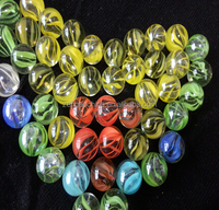 16 mm glass marble ball color solid transparent glass beads for game machine