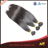 2015 New Product Natural Unprocessed Indian Temple 27 piece human hair weave