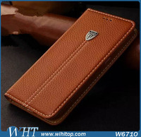 Xundi Real Leather Flip Stand Case Cover for iPhone 6 Mobile Phone Case
