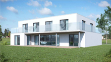 prefabricated villa modular house