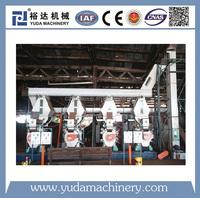 DIN PLUS peanut, rice husk, straw, sawdust pellet production line plant, certified factory biomass wood pellet machine