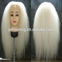 High Quality Santa Claus Yak Hair Christmas Wigs and Beard and Moustache and Eyebrown