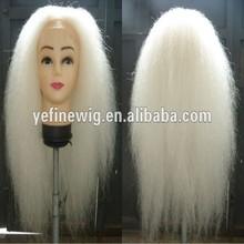 Высокое качество дед мороз як волос рождество парики и борода и усы и Eyebrown