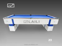 LAILI Professional Tournament Billiard Table X5-W ---pool Table for Nine ball game