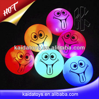 Flashing pet toys for dog of bouncing ball