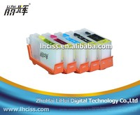 5/8 refillable ink cartridge with reset chip for CANON ix5000 MX700