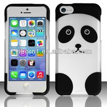 Best selling cute Panda cell phone case for Iphone 4 4s 5 5s