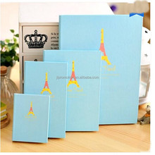 custom printed handmade hardcover spiral Notebook with color pages