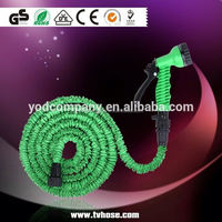 Free sample available low price 10 foot garden hose latex expanding hose