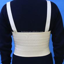 Skin color adjustable comfortable elastic medical rib brace surgical rib support