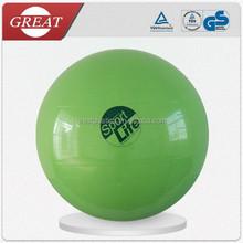 Eco-friendly PVC wholesale yoga ball for 180-185 user