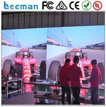 amazing lighting flexible led curtain display for night club 2015 Leeman P12 DIP RGB color external wall