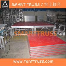 wooden stage platform, cheap stage podium ,portable stage platform