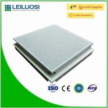 Square aluminum aluminum sheet metal ceiling