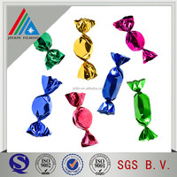 metallized twist film for candy wrapper/good package plastic film