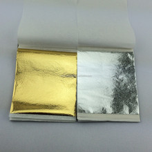 24ct gold color Shining gold silver leaf decoration furniture