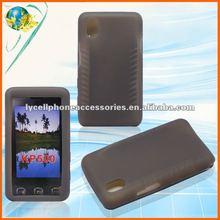 For HTC Wildfire G8 6225 SMOKE color silicone rubber case