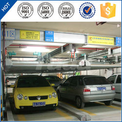 psh 3 level pit smart high quality car parking system rotating