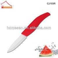 New Stylish super sharp ceramic knife / red ceramic knife set / ceramic fishing knife