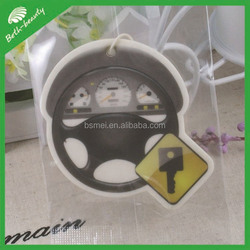 Custom hanging logo print Air Freshener Paper For Car