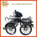4 maratón de ruedas carro de caballos/maratón de entrenamiento caballo dibujado carrito