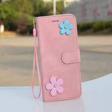 china wholesale Chinoiserie Grind arenaceous lanyard pu leather case for iphone 6 case