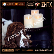 hot sale Rechargeable LED Tea Light Tealights Candles Yellow with Remote Control Holder Charger Flickering Flameless for Emergen