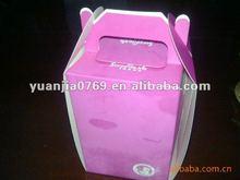 2012 take away carry cake box