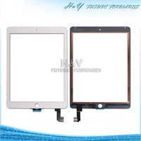 Hot seal & manufacturer Screen panel white & black for iPad air 2