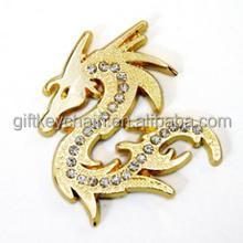 High quality metal crafts gifts Custom design business custom car emblem