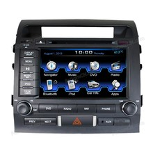 Touch Screen Car DVD GPS Navigation System for Toyota Land Cruiser with Bluetooth/Radio/iPod