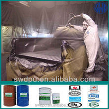 (SPUA) pure polyurea elastomeric coating car spray paint