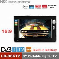1080P car using battery support vga port usb sd card slot 12v smart dvb t dvb t2 tv replacement led lcd tv screens