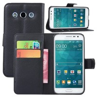 for Samsung Galaxy Core Max case flip wallet,case for Samsung Galaxy Core Max