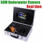 Baratos profissionais 50 metros de pesca em tempo real INFARED barato câmera digital subaquática