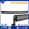 Combination led light bar 4x4 240w led light bars utility trailers lamp