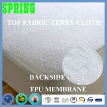Premium Hypoallergenic 100% Waterproof Terry Cloth Mattress Protector for Home and Hotel