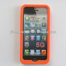Wholesale Useful Silicone Cell Phone Cover for Iphone 5/4s/4g and Cell Case for Phone with your customize logo