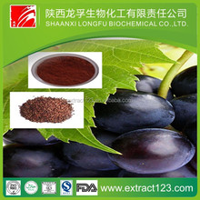 Health food grape seed extract grape skin extract